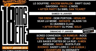 Affiche scred festival