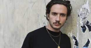 French rapper Lord Esperanza poses on May 14, 2019 in Paris